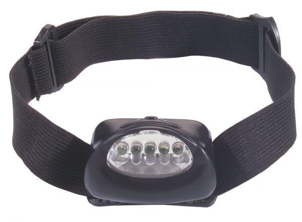 Kopflampe mit 5 LED