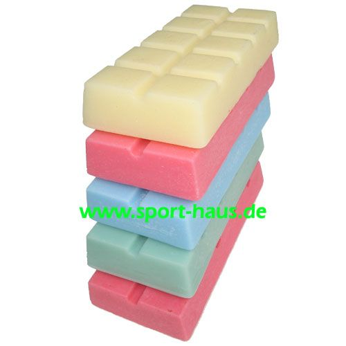 Heisswachs gelb/rot/blau/grün/fluor 200g