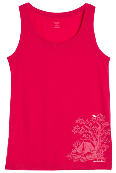 Womens TechLite Tank Gone Bush