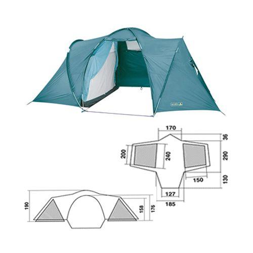 Zelt Base Dome 2