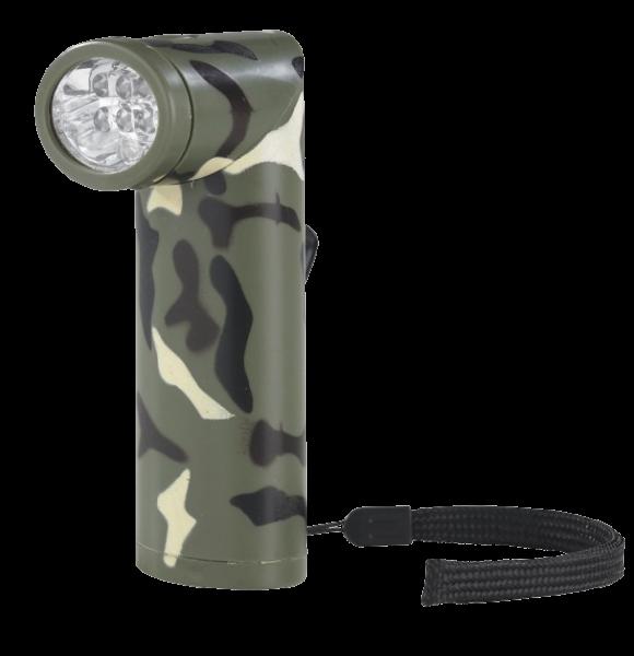 Taschenlampe mit 6 LED und Magnet
