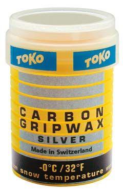 Carbon GripWax silver